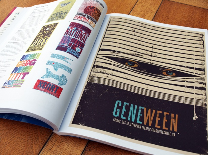 Gig Posters - Vol 2 - Gene Ween by Hyp inc