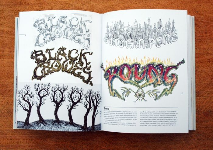 Typography Sketchbooks - Emek