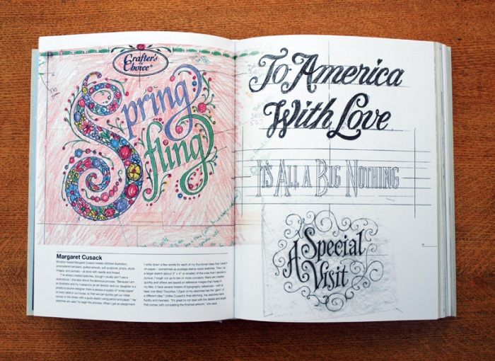 Typography Sketchbooks - Margaret Cusack