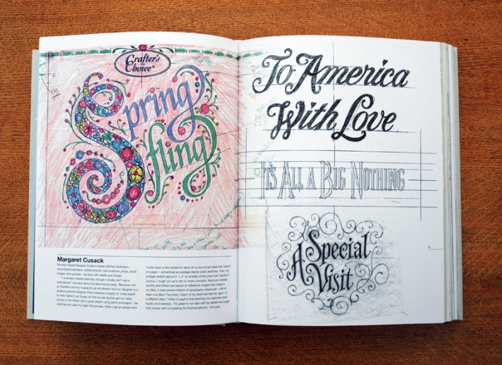 typography sketchbooks books for artists