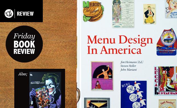 Menu Design in America & The Cover Art of Brian Bolland
