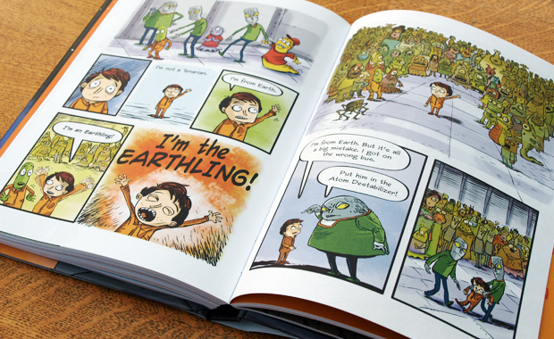 Earthling! - By Mark Fearing