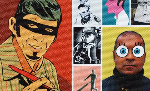 100 Illustrators 01