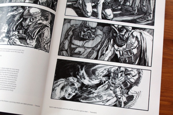 Star Wars Storyboards The Original Trilogy Recommended Books For Artists And Designers