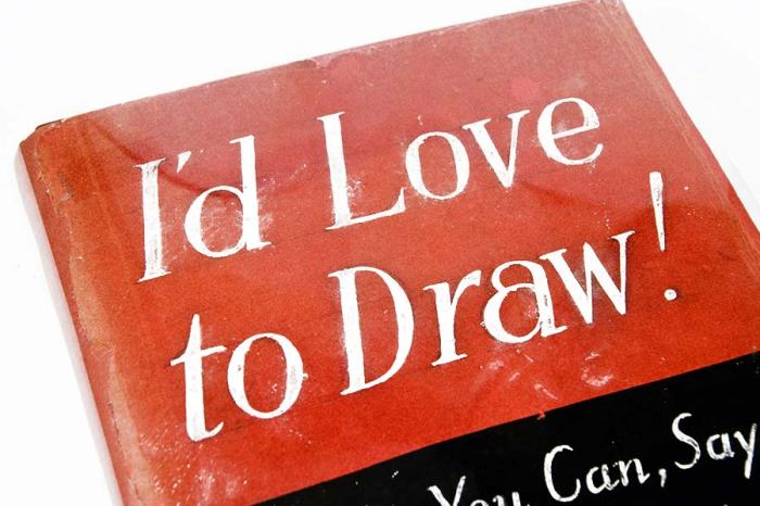 Andrew-Loomis-I'd-Love-to-Draw-Original